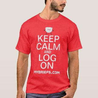 Keep Calm and Log On T-shirt