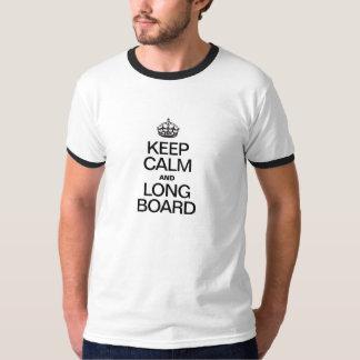 KEEP CALM AND LONG BOARD T-Shirt