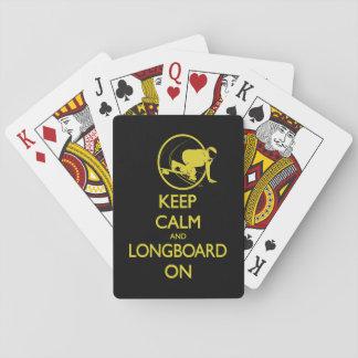 Keep Calm and Longboard On Cards