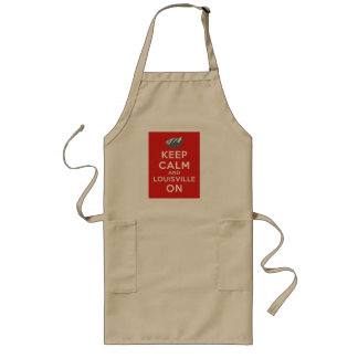 Keep Calm and Louisville On Louisville, Colorado Long Apron