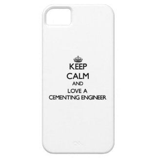 Keep Calm and Love a Cementing Engineer Barely There iPhone 5 Case