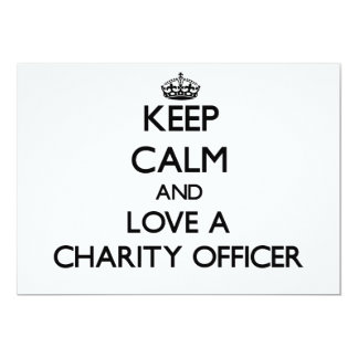 Keep Calm and Love a Charity Officer Announcements
