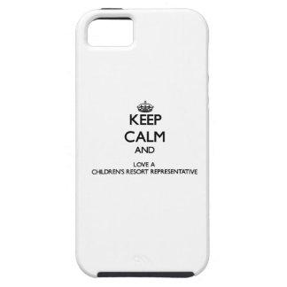 Keep Calm and Love a Children's Resort Representat iPhone 5 Case