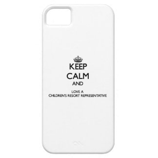 Keep Calm and Love a Children's Resort Representat iPhone 5 Covers