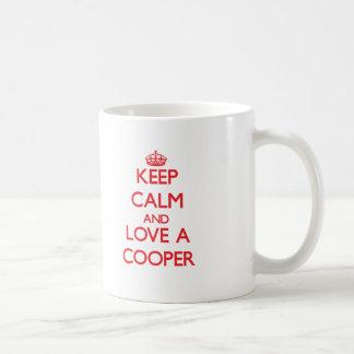 Keep Calm and Love a Cooper Coffee Mug