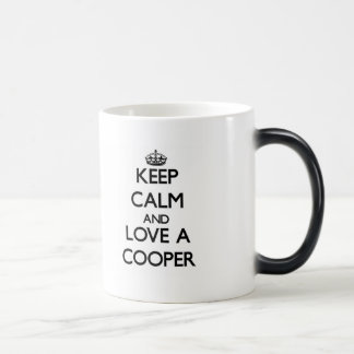 Keep Calm and Love a Cooper Morphing Mug