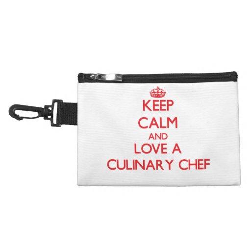 Keep Calm and Love a Culinary Chef Accessory Bag