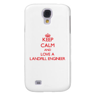 Keep Calm and Love a Landfill Engineer HTC Vivid Case