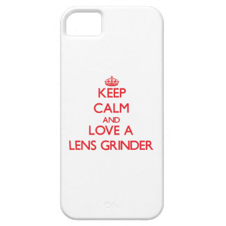 Keep Calm and Love a Lens Grinder iPhone 5 Covers