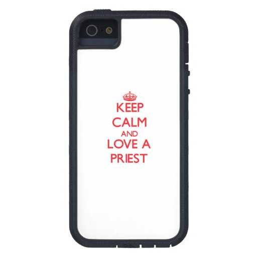 Keep Calm and Love a Priest iPhone 5 Cover