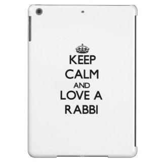 Keep Calm and Love a Rabbi Case For iPad Air