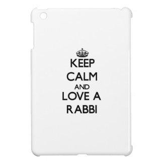 Keep Calm and Love a Rabbi Cover For The iPad Mini