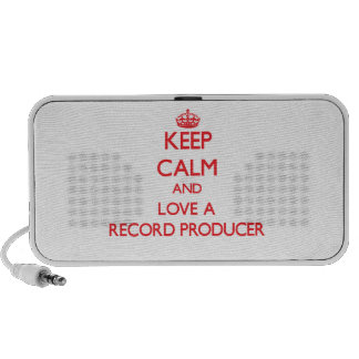 Keep Calm and Love a Record Producer Travel Speaker