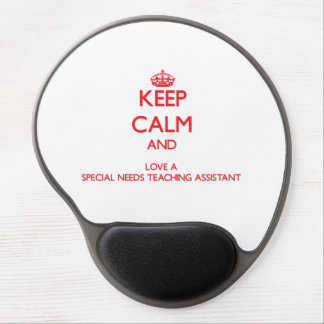 Keep Calm and Love a Special Needs Teaching Assist Gel Mouse Mat