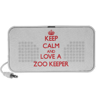 Keep Calm and Love a Zoo Keeper Speaker System