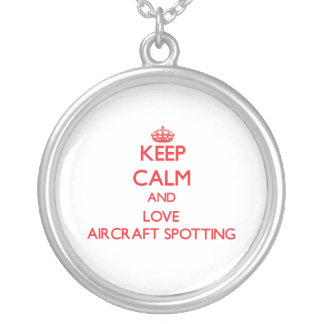 Keep calm and love Aircraft Spotting Jewelry