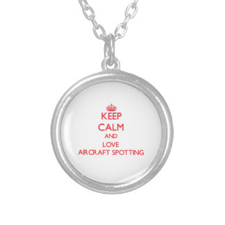 Keep calm and love Aircraft Spotting Pendant