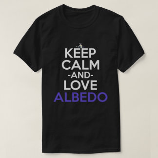 Keep Calm And Love Albedo Anime Shirt