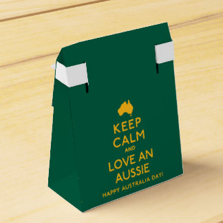 Keep Calm and Love an Aussie! Party Favour Box