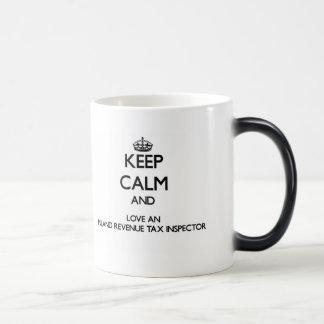 Keep Calm and Love an Inland Revenue Tax Inspector Morphing Mug