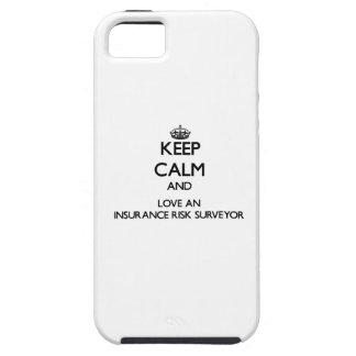 Keep Calm and Love an Insurance Risk Surveyor iPhone 5 Case