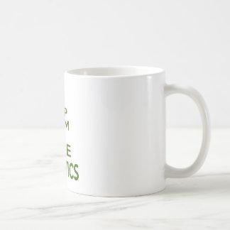 Keep Calm And Love Aquatics Mug