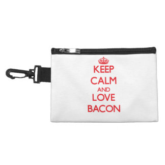 Keep calm and love Bacon Accessories Bag