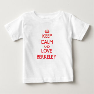 Keep Calm and Love Berkeley Baby T-Shirt