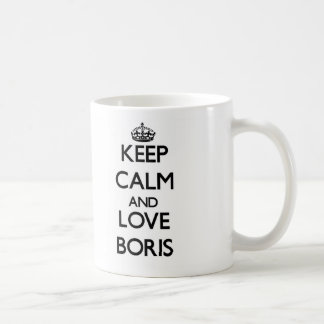 Keep Calm and Love Boris Mug