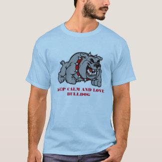 KEEP CALM AND LOVE BULLDOG T-Shirt