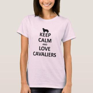 Keep calm and love cavaliers T-Shirt