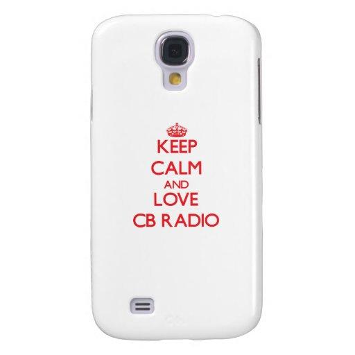 Keep calm and love Cb Radio HTC Vivid Cover
