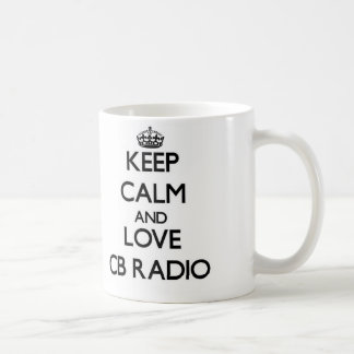 Keep calm and love Cb Radio Mug