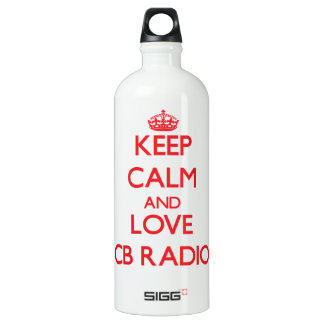Keep calm and love Cb Radio SIGG Traveller 1.0L Water Bottle