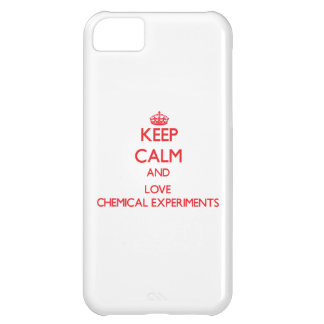 Keep calm and love Chemical Experiments Case For iPhone 5C