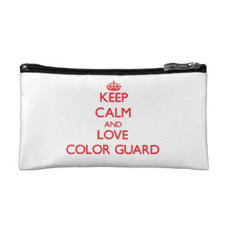 Keep calm and love Color Guard Cosmetic Bag