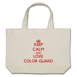 Keep calm and love Color Guard Bag