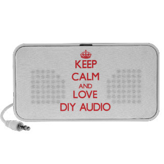Keep calm and love Diy Audio Travel Speakers