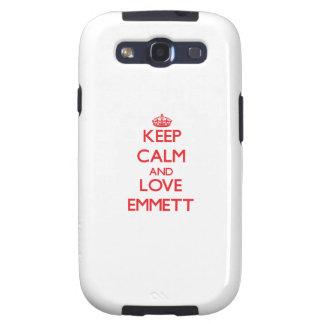 Keep Calm and Love Emmett Samsung Galaxy S3 Case