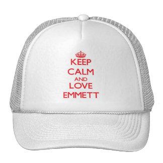 Keep Calm and Love Emmett Mesh Hats
