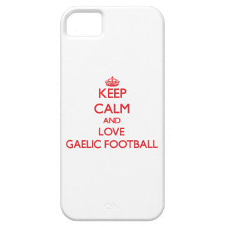 Keep calm and love Gaelic Football iPhone 5/5S Cover