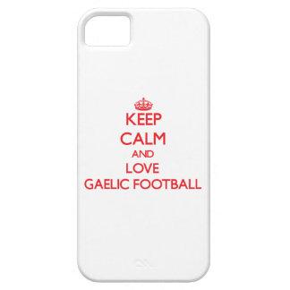 Keep calm and love Gaelic Football iPhone 5/5S Cover