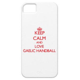 Keep calm and love Gaelic Handball Cover For iPhone 5/5S