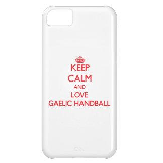 Keep calm and love Gaelic Handball iPhone 5C Cover