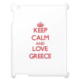 Keep Calm and Love Greece Case For The iPad