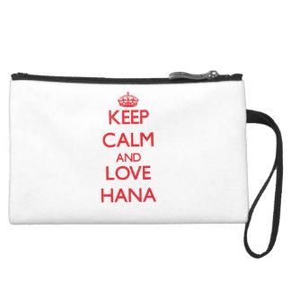 Keep Calm and Love Hana Wristlet