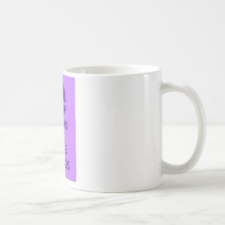 Keep Calm and Love Hippos Hippotamus Design Coffee Mug