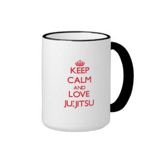 Keep calm and love Ju-Jitsu Mugs