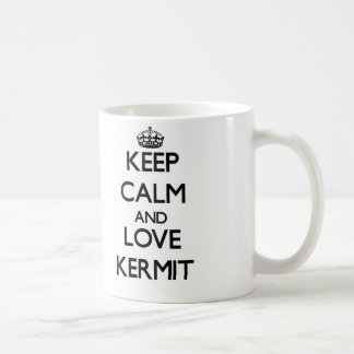 Keep Calm and Love Kermit Mugs
