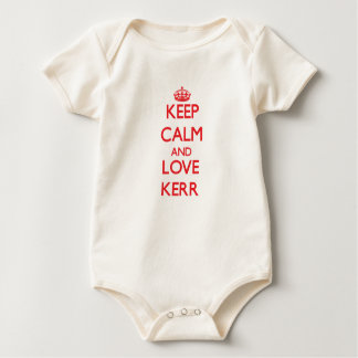 Keep calm and love Kerr Baby Bodysuit